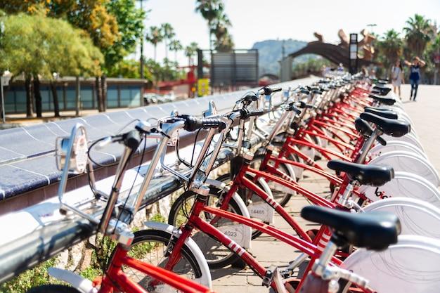 Parking vélos Photo Premium