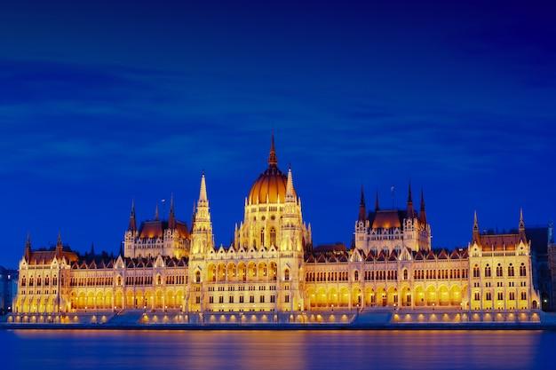Le parlement hongrois Photo Premium