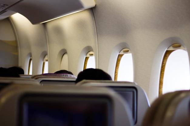 Passagers en vol Photo gratuit