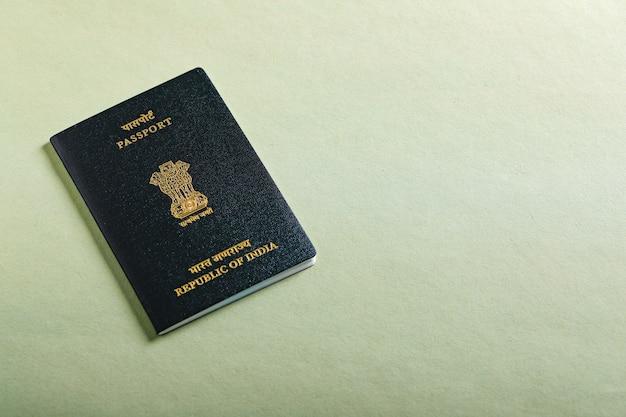 Passeport indien Photo Premium