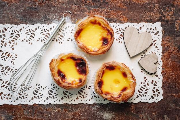 Pasteis de nata Photo Premium