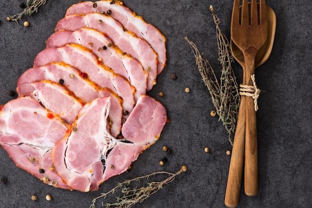 Pastrami de porc Photo Premium