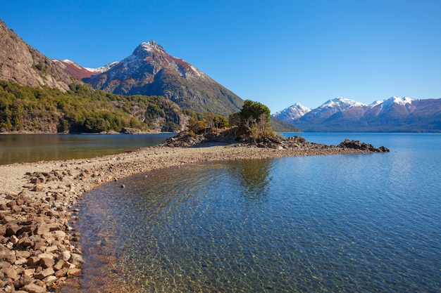 Paysage Bariloche En Argentine Photo Premium
