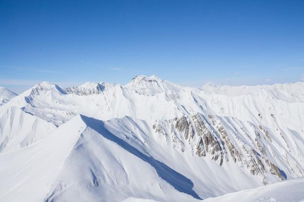 Paysage d'hiver fantastique Photo Premium