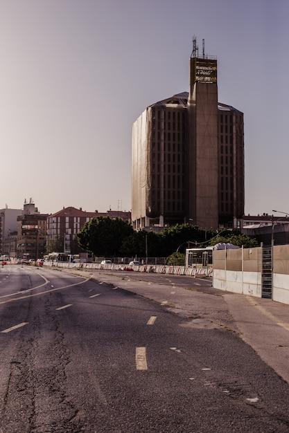 Paysage urbain désolé Photo gratuit