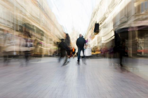 Paysage urbain flou Photo gratuit
