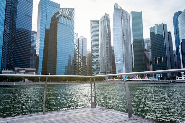 Paysage urbain de singapour Photo gratuit