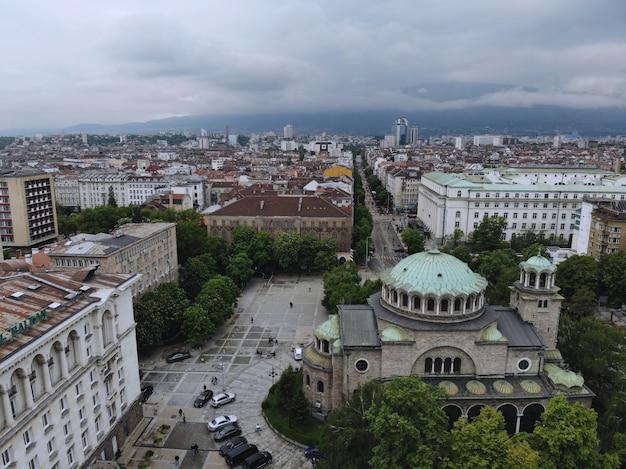 Paysage Urbain De Sofia, La Capitale De La Bulgarie Photo Premium