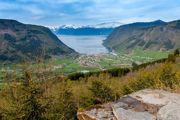 Paysages Pittoresques Des Fjords Norvégiens. Photo gratuit