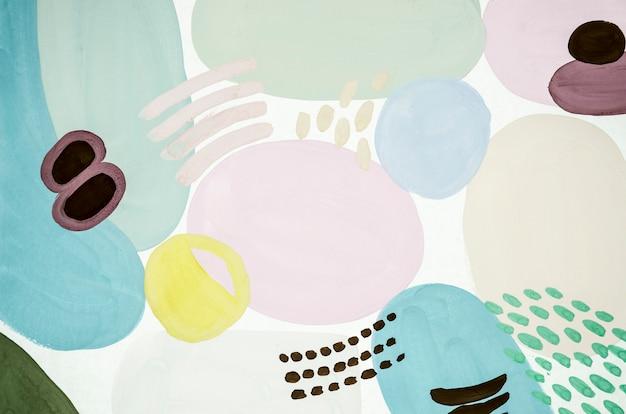 Peinture abstraite de couleur pâle Photo gratuit