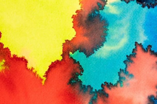 Peinture Aquarelle Abstraite Créative Photo gratuit