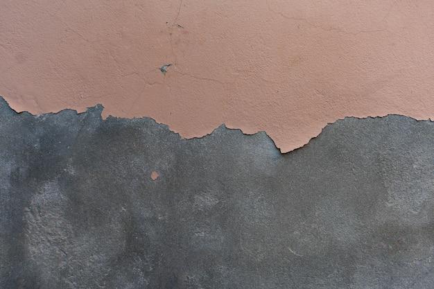 Peinture Décollant Le Fond De Texture Granuleuse De Mur De Ciment Photo Premium