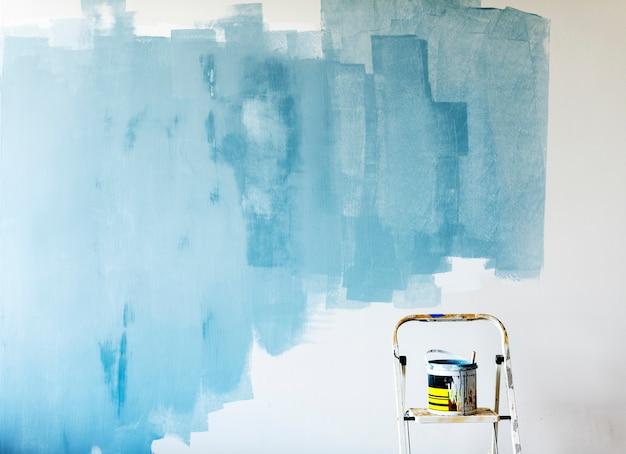 Peinture intérieure de rénovation intérieure Photo gratuit