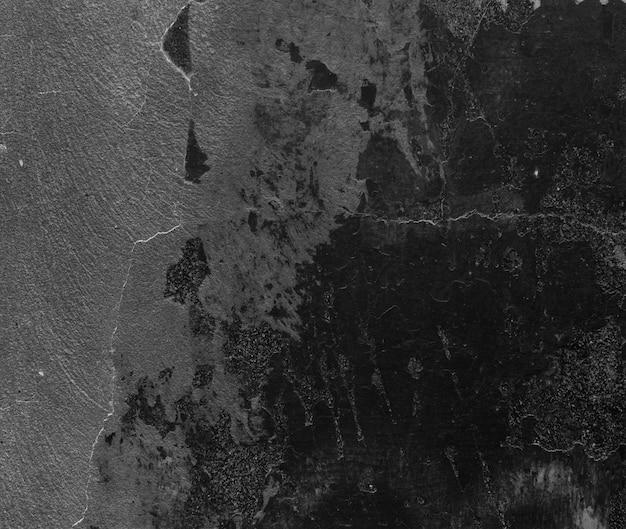 Peinture Noire Sur Le Mur De Ciment Photo gratuit