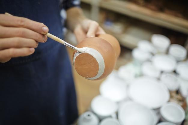 Peinture nouvelle cruche Photo gratuit
