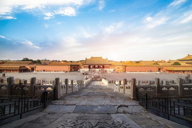 Pékin, cité interdite en chine Photo Premium