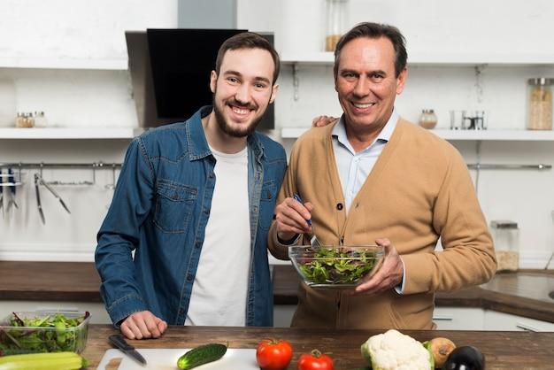 Père Fils, Confection, Salade Photo gratuit
