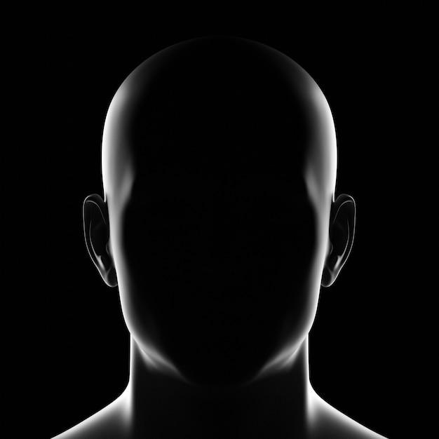 Personne De Silhouette Masculine Inconnue Photo Premium