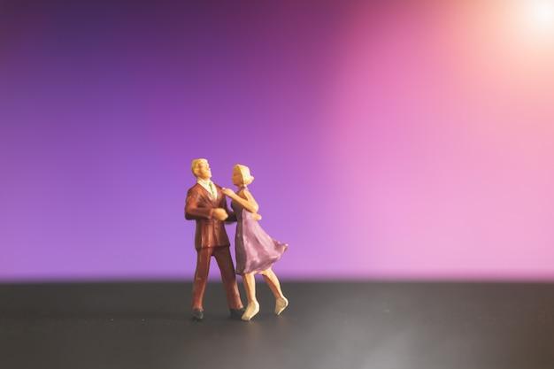 Personnes miniatures Photo Premium