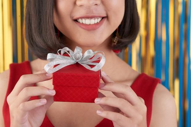 Petit cadeau d'anniversaire Photo gratuit
