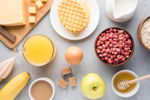 Petit-déjeuner sain Photo Premium