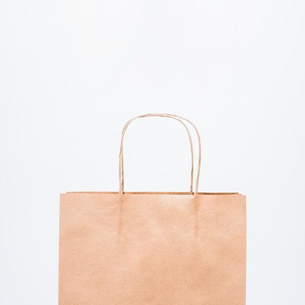 Petit sac shopping avec poignées Photo gratuit