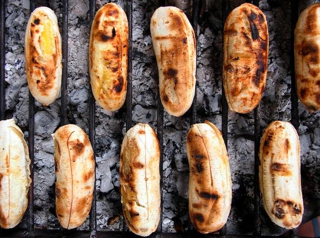 Petites Bananes Grillées Photo gratuit