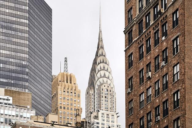 Photo à Couper Le Souffle Du Chrysler Building à New York, Usa Photo gratuit