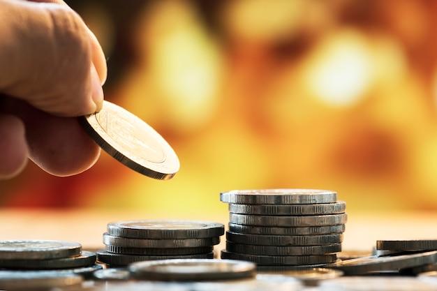 Photo macro de concept financier Photo gratuit