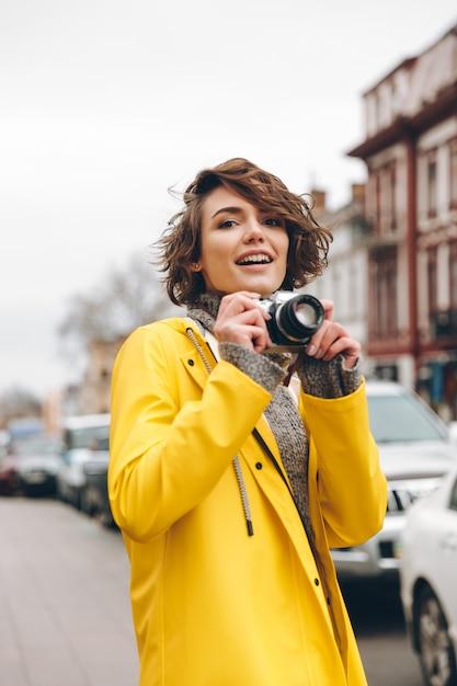Photographe Magnifique Jeune Femme Photo gratuit