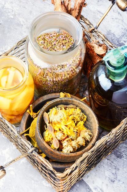 Phytothérapie alternative Photo Premium