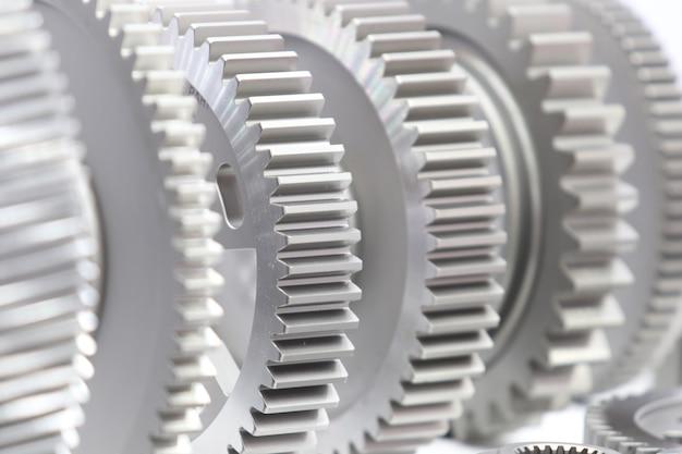 Pièces de rechange pour engins industriels pour machines lourdes Photo Premium