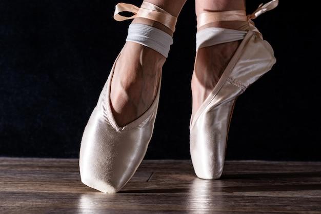 Pieds de ballerine dansante Photo Premium