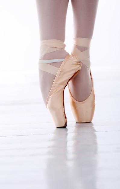 Les pieds de ballerine Photo gratuit