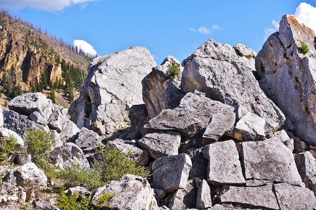 Pierres de yellowstone Photo gratuit