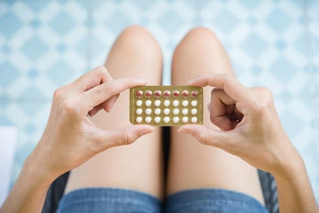 Pilules contraceptives Photo gratuit