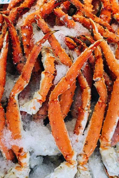Les pinces de crabe se bouchent Photo gratuit