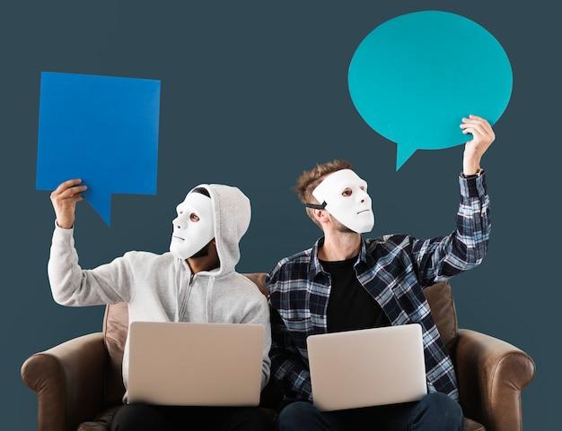 Les Pirates Informatiques Et Le Concept De Cybercriminalité Photo gratuit