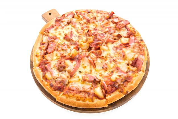 Pizza Hawaïenne Photo gratuit