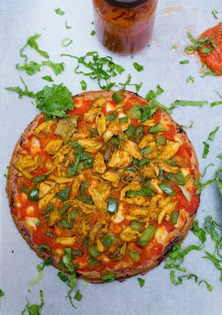 Pizza maison Photo Premium