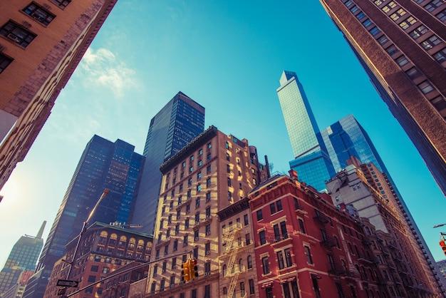 Place de la ville de new york Photo gratuit