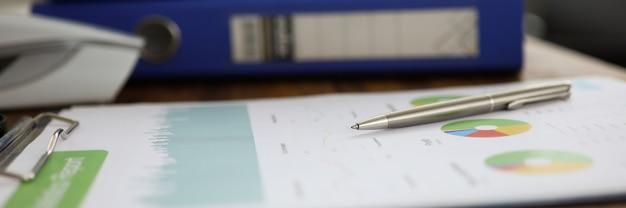 Plan De Communication Des Statistiques Photo Premium