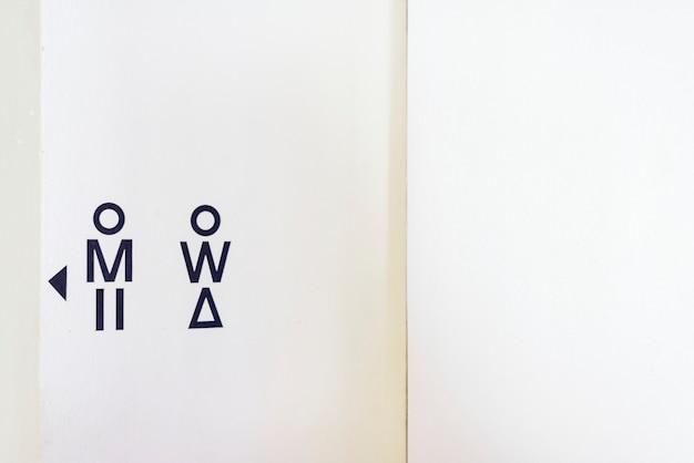 Plan rapproché de la planche de toilette Photo Premium