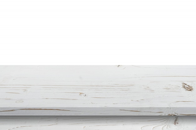 Plan de travail en bois Photo Premium