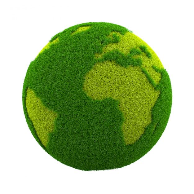 Planète Grass World Photo Premium