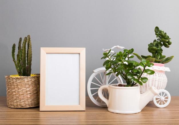 Plantes d'intérieur. plantes succulentes Photo Premium