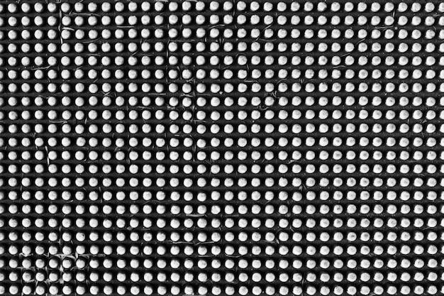 Plaque de métal couleur argent cercle texture et fond Photo Premium