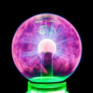 Plasma boule de plasma électrifier Photo gratuit