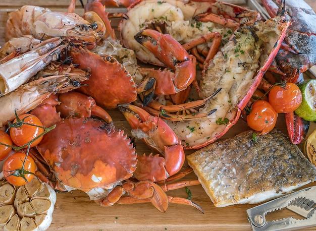 Plateau de fruits de mer Photo Premium