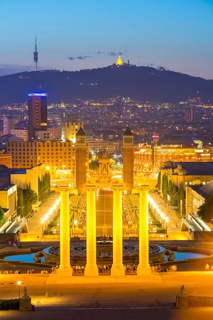 Plaza espana barcelone Photo Premium